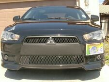 Lancer EVO Side License Plate Mount Bracket 2008 - 2014  With smoked cover