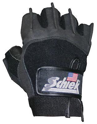 Schiek Gel Padded Workout Gloves Model 715 Premium Series Lifting Glove 1 Pair