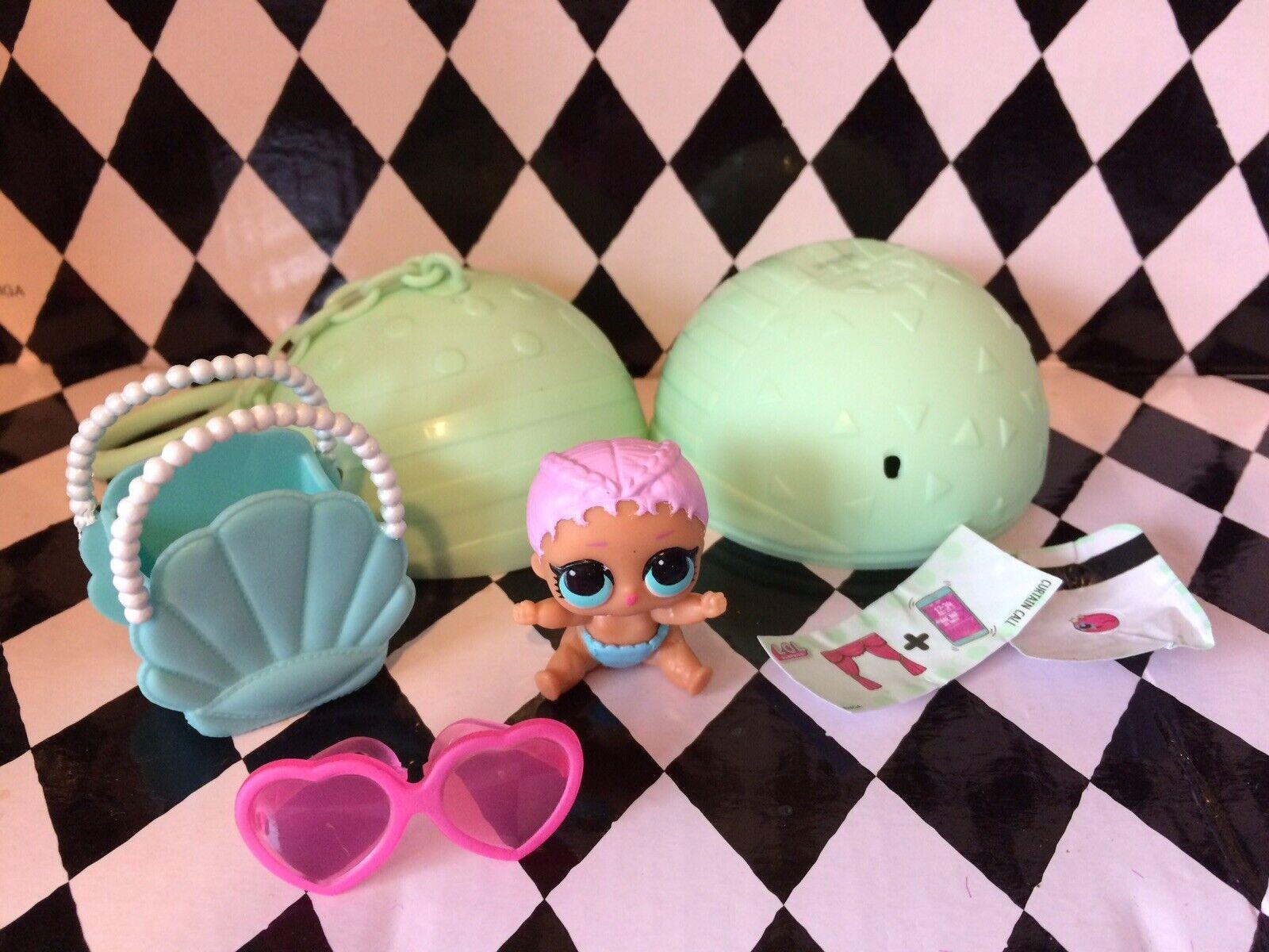 Lol Surprise Doll Series 2 - Lil Sister Merbaby, Complete