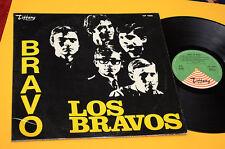 LOS BRAVOS LP 1°DISCO 1°ST ORIG ITALY 1967 EX TOP COLELCTORS