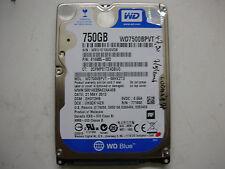 "WD Blue 750gb WD7500BPVT-60HXZT3 2060-771820-000 REV A 2,5"" SATA"