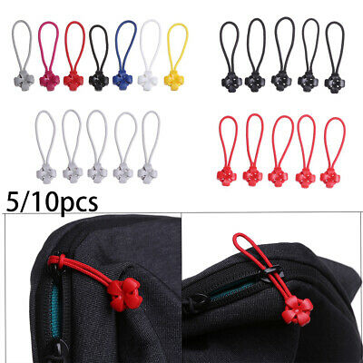 Zipper Pull Puller End Fit Rope Fixer Zip Cord Replacement Clip Broken Buckle
