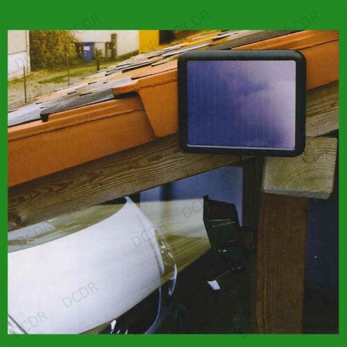 60 LED energia solare sicurezza Luce Con Pir /& TRAMONTO ALBA SENSORE Outdoor RIFLE