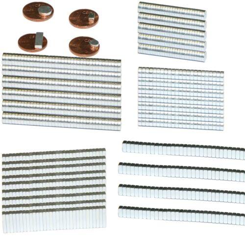 Starke Neodym Magnete Magnet Minimagnete Scheibe Quader