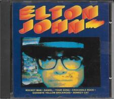 """ELTON JOHN - RARO CD 1993 """" ELTON JOHN LIVE """""""