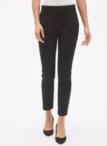 Gap Black Signature Skinny Ankle Pants with Secret Smoothing Pockets Size 6 Tall