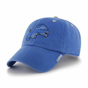 huge selection of 878f2 11934 Image is loading NFL-Detroit-Lions-Embroidered-Washed-Cotton-Twill-Classic-