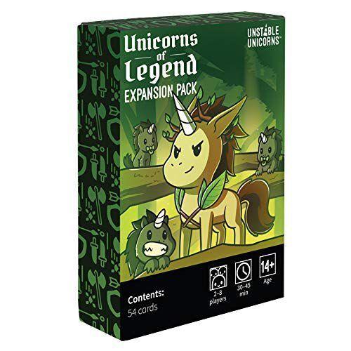 Unicorns of Legend Expansion Pack Unstable Unicorns
