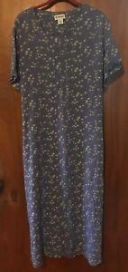 d69c490f8689f Motherhood Maternity Women's Plus Size Maxi Dress Blue Purple Floral ...