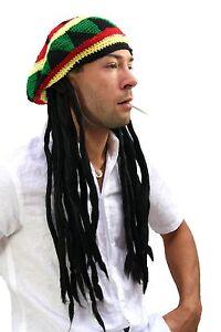 Sombrero-hecho-punto-con-Rasta-rastas-Rastafari-Reggae-Jamaica-mirada-Gorra-jah