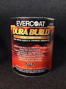 Details about Evercoat High Build Acrylic Primer Surfacer-Red Oxide FE-2284  (Gallon)