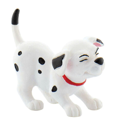 6 Cake Topper Toy Figures! Official Bullyland Disney 101 Dalmations Figurines