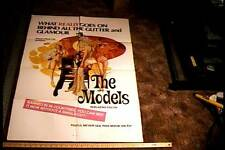 THE MODELS ORIG MOVIE POSTER SEXPLOITATION