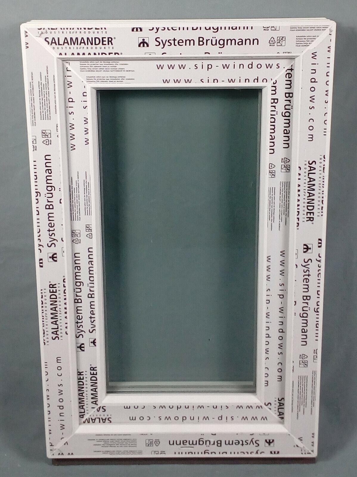 Kunststofffenster Fenster Salamander, 50x80 cm bxh, weiß
