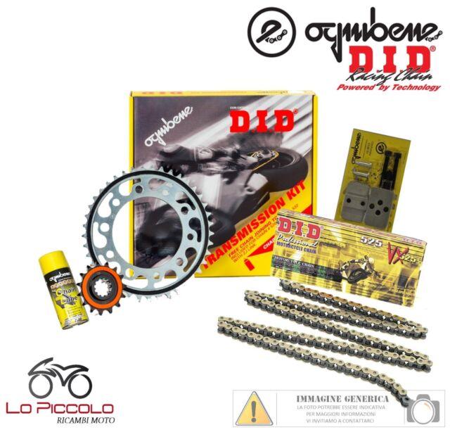 375557000 KIT CATENA CORONA PIGNONE DID APRILIA MX 125 Supermotard 2004-2006 125CC