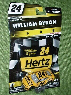 2019 Wave 4 William Byron Hertz Rentals 1//64 NASCAR Authentics Diecast