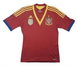 SPAGNA 2012-13 ORIGINALE HOME (eccellente) S Soccer Jersey