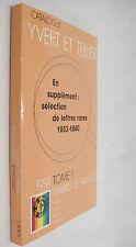 Yvert et Tellier 1991 Timbres de France Catalogue Volume 1 French Stamp Catalog