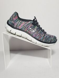 SKECHERS-Relaxed-Fit-GAME-ON-Women-039-s-Multi-Color-Sport-Fashion-Sneakers-US-7-5