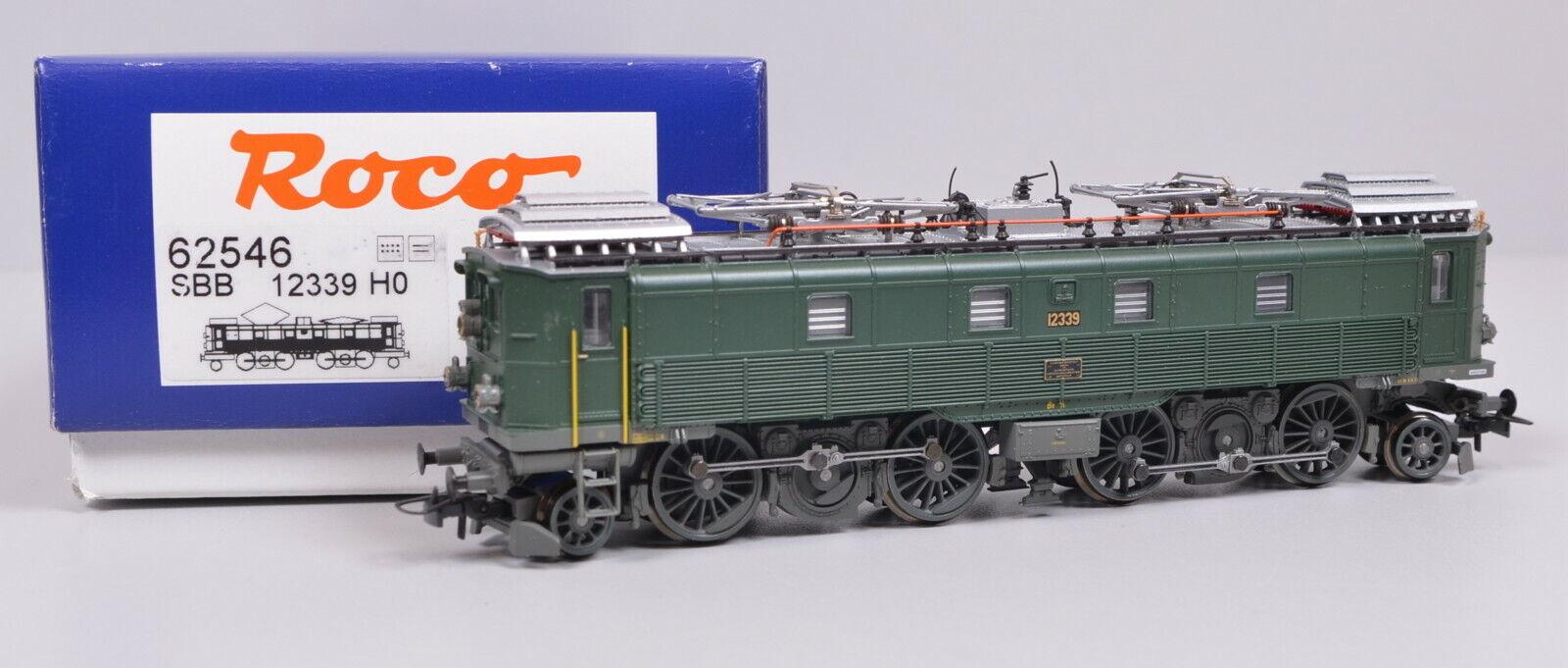 Roco 62546 Locomotora Eléctrica Serie Be 4 6 el SBB   Nuevo No Usado   Emb.orig