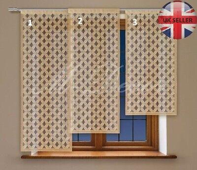 Kids Childrens bedroom window net curtain PANEL ready to hang BEARS!
