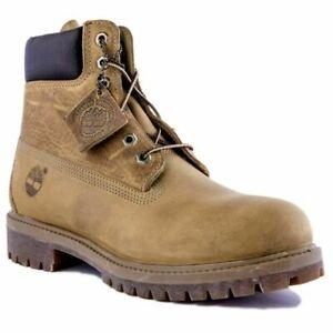 Dettagli su 27092 MEN'S Timberland Heritage Classic Premium Boot in pelle brunita Grano mostra il titolo originale