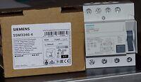 Siemens Allstromsensitiv FI-Schutzschalter 63A 4p 30mA Typ B 5SM3 346-4