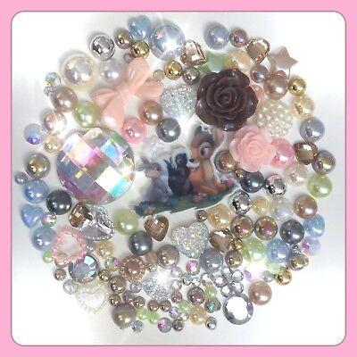 Disney Tangled Rapunzel Theme Cabochon Gems /& pearls flatbacks decoden crafts #1