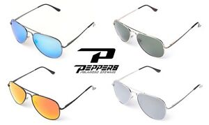 NEW Peppers Eyewear Freeway Mens Womens Aviator Round Polarized Sunglasses Rt$35