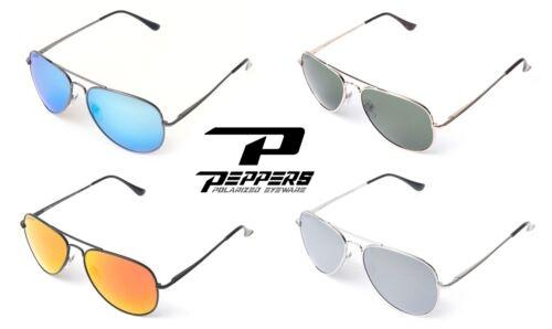 NEW Peppers Eyewear Freeway Mens Womens Aviator Round Polarized Sunglasses Rt$35
