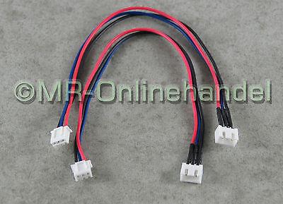 2x 2S Balancer Verlängerung JST-XH 20cm Lipo Kabel Akku 7,4V