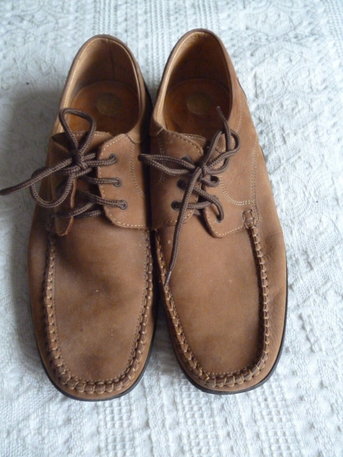 Casual Leather Brown shoe with antistatico Size 44 only worn couple of times.