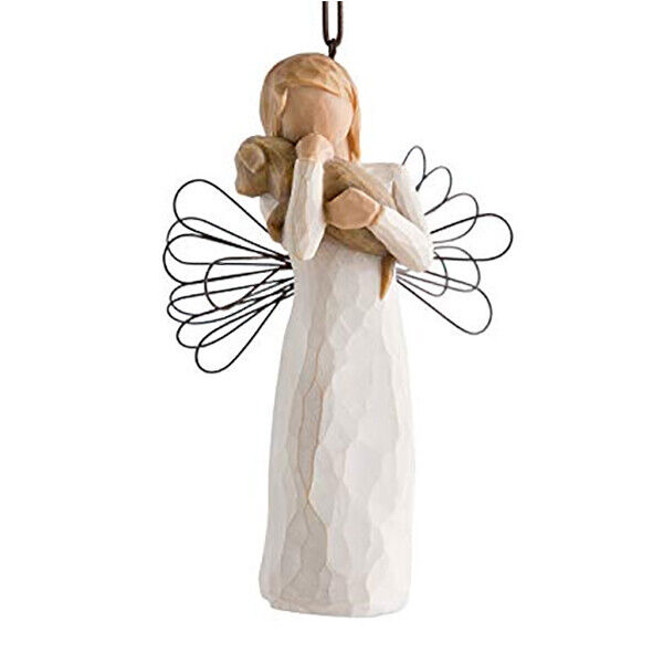 Willow Tree Hanging Ornament - Angel of Friendship 26043 By Susan Lordi