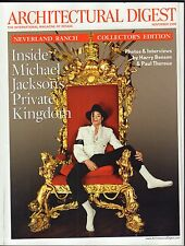 Architectural Digest November 2009 Michael Jackson Neverland Ranch 021417DBE2