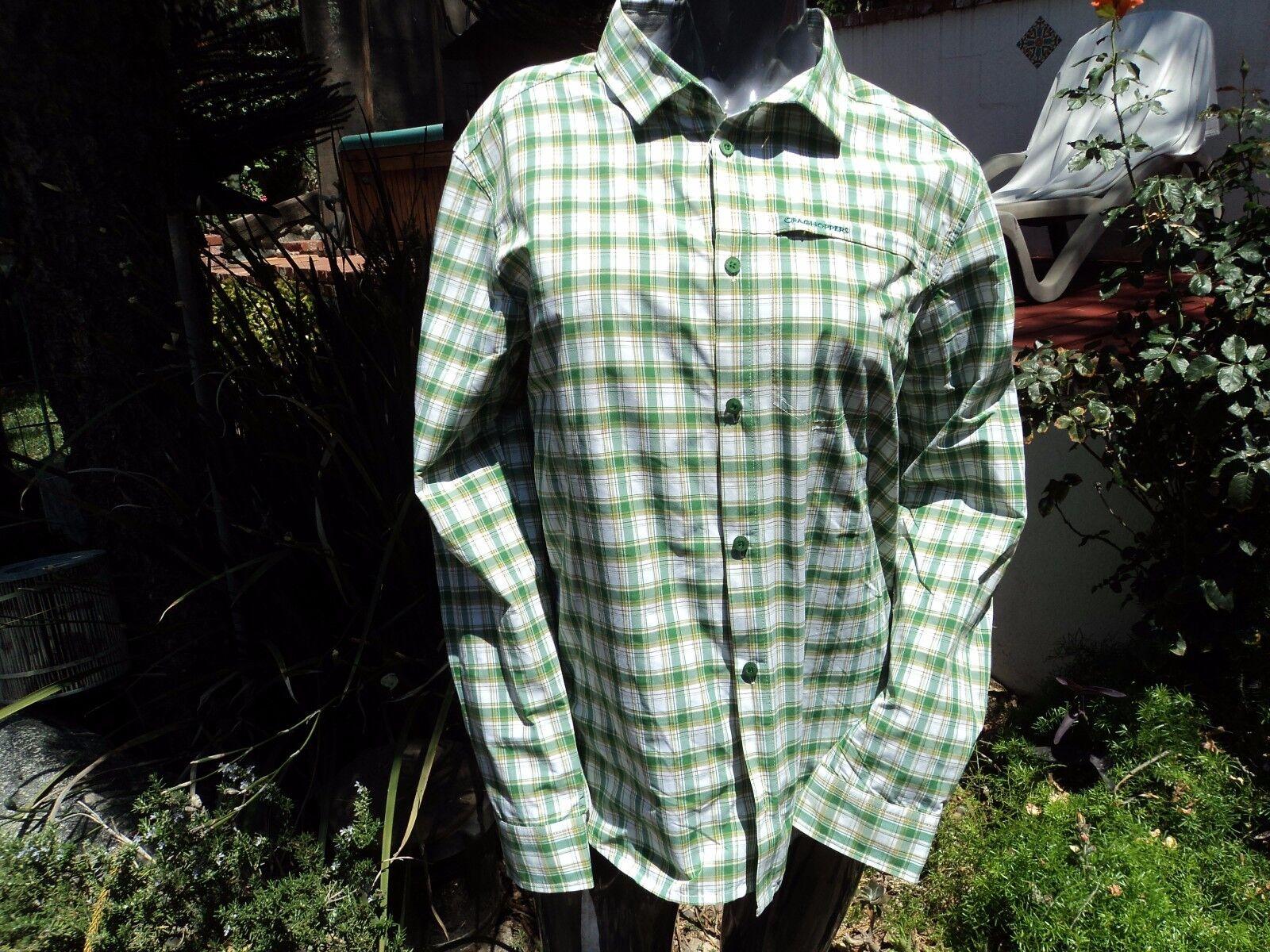 Craighoppers CMS531 Tristan Long Sleeve Shirt Leaf Green