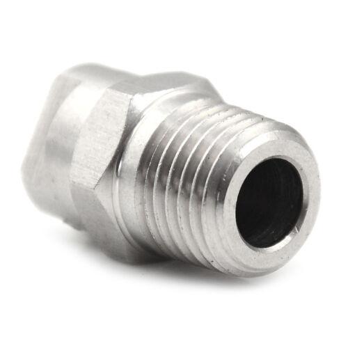 1//4 Zoll Metall V Jet Flachstrahldüse spezifische industrielle Waschwerkzeu  Fw