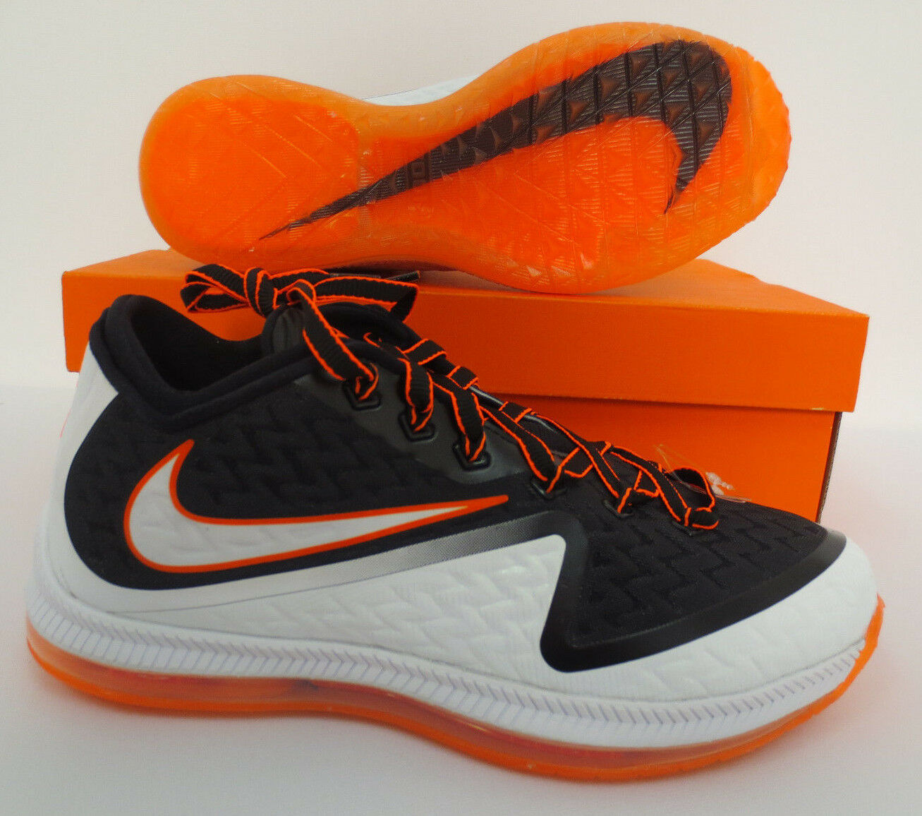 NIKE FIELD GENERAL 2 SIZE 8.5 SHOES MENS RUNNING WORKOUT 749310 108 NEW ORANGE