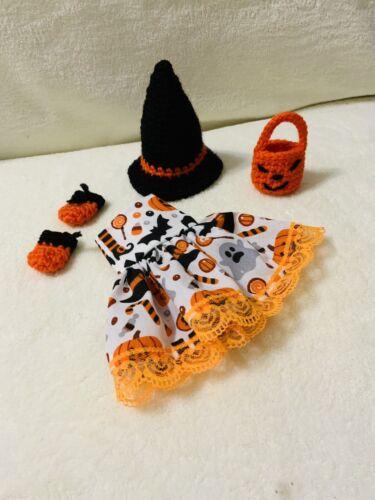 Elf Halloween robe chapeau chaussures et sac Prop//accessoires fait main