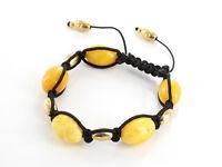 German Antique Amber Bracelet W074