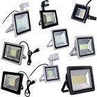 500W 300W 200W 150W 100W 50W 30W 20W 10W LED Floodlight Garden Spot Lamp w/ Plug