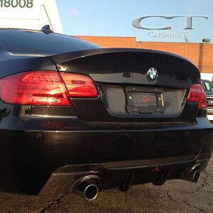 Details About Unpainted Bmw E92 3 Series 2d Coupe Csl Type Rear Trunk Boot Spoiler Abs