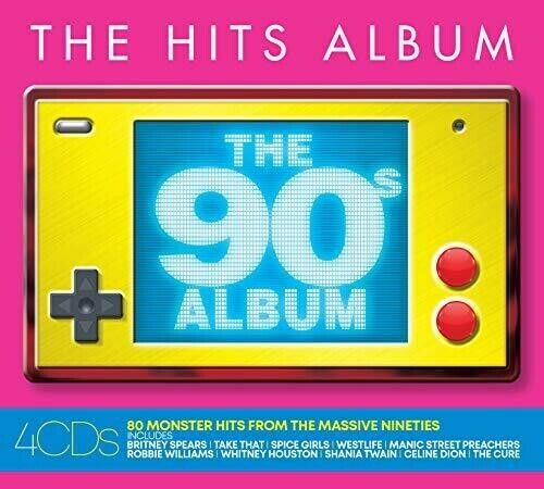 Various Artists - Hits Album: The 90s Album / Various [New CD] UK - Im