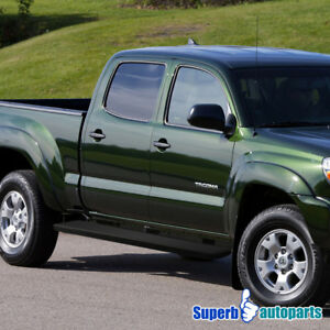 2017 Toyota Tacoma Running Boards >> Details About For 2005 2017 Toyota Tacoma 5 Side Step Running Boards Nerf Bars Double Cab