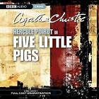 Five Little Pigs by Agatha Christie (CD-Audio, 2006)