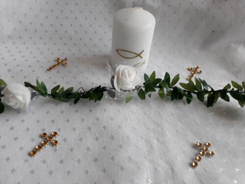 6 Kerzen Taufe,Baby Goldene Fische,Tischdeko,Party Set 4 Kommunion