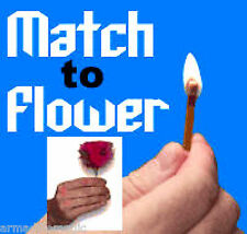 Match To Feather Flower Magic Trick - Carry In Your Pocket