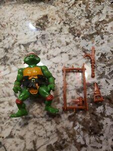 1988 Teenage Mutant Ninja Turtles Raphael Hard Head Figure Mirage Playmates TMNT