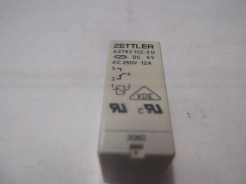 Zettler  Relais AZ763-1CE-5D  DC 5 V