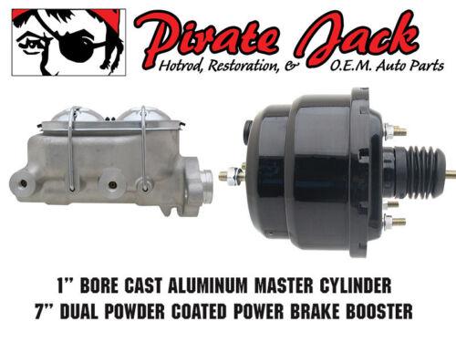 "28-31 Hot Rod Universal Frame Mount Brake Pedal /& 7/"" Dual Proline Booster Kit"
