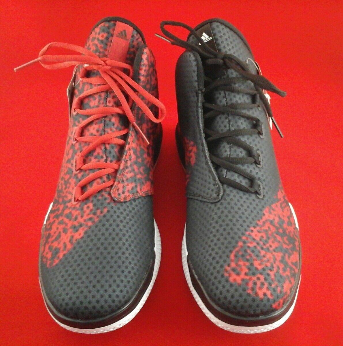 Adidas auf basketball - - schuhe bei nba - basketball d70129 rot - schwarze us - 11,5 selten neue 1cd061